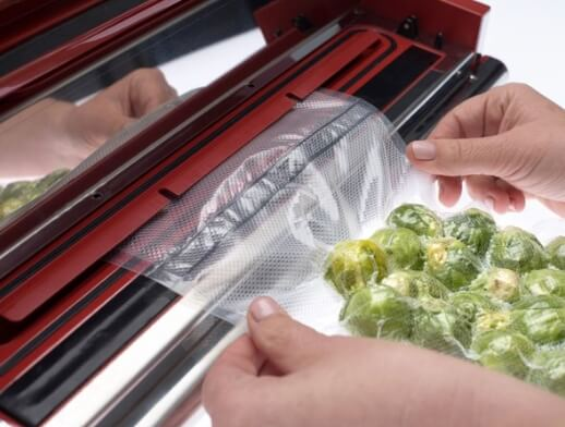 Vakuumpakking av grønnsaker