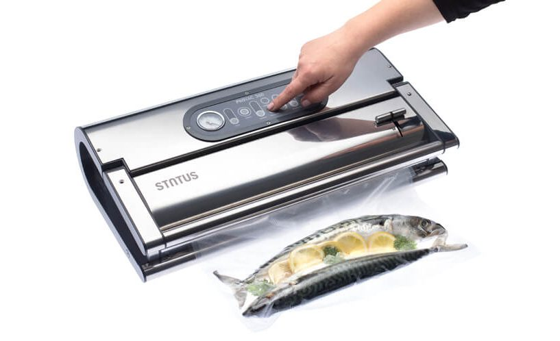 How to vacuum pack fish?