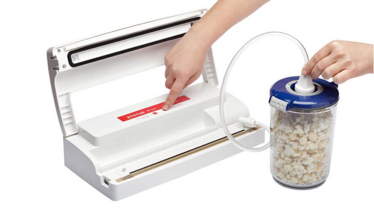vacuum sealing food containers with vacuum sealer Status BV500