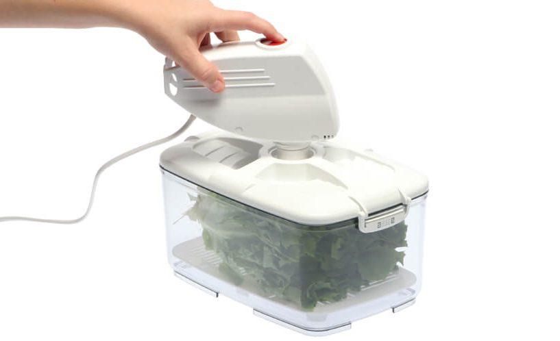 store food in vacuum