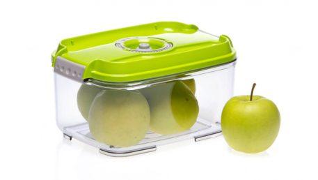 rectangular vacuum container from Status innovations