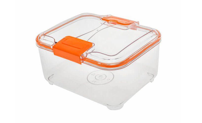 orange food container