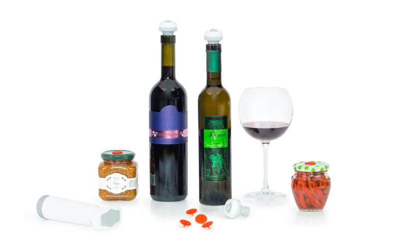 stoppers for wine bottles and mason jars