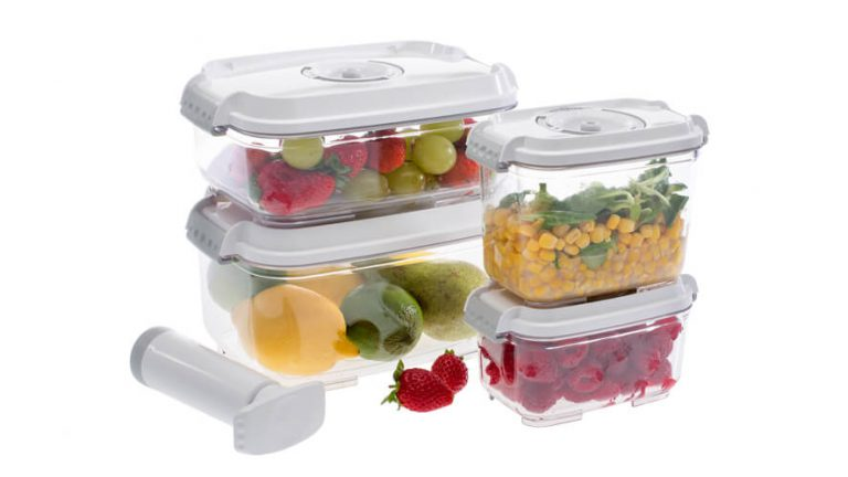 set of vacuume containers