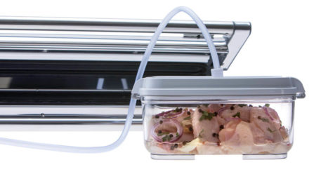 Provac marinator set - vacuum container and vacuum packing machine