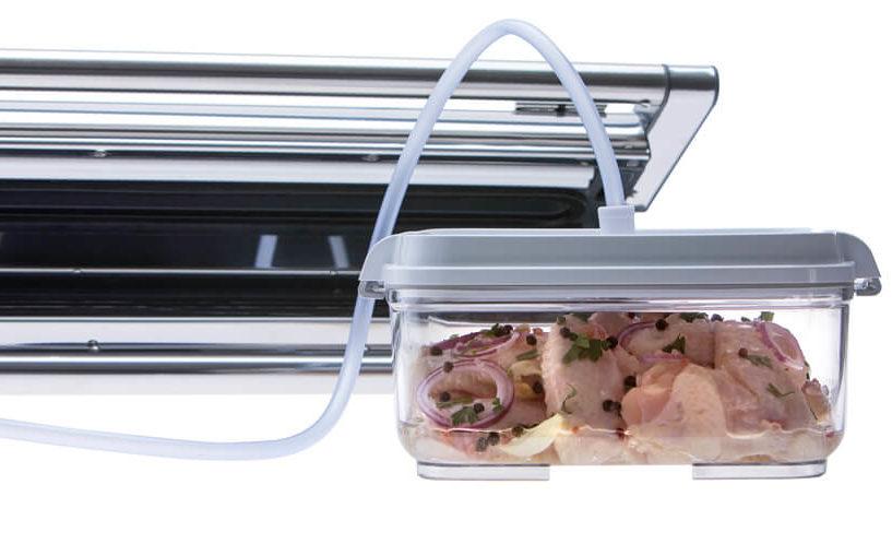 Provac marinator set - vacuum container and vacuum packing machine