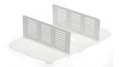 drip tray with dividers for 3 and 4.5 litre vacuume container