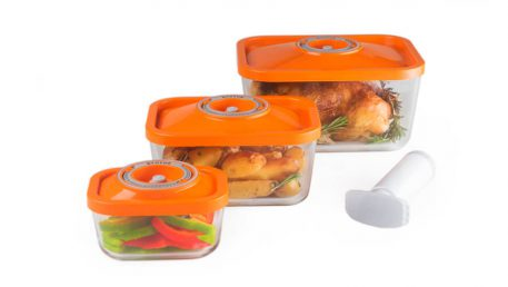 4-piece set of oven dish containers