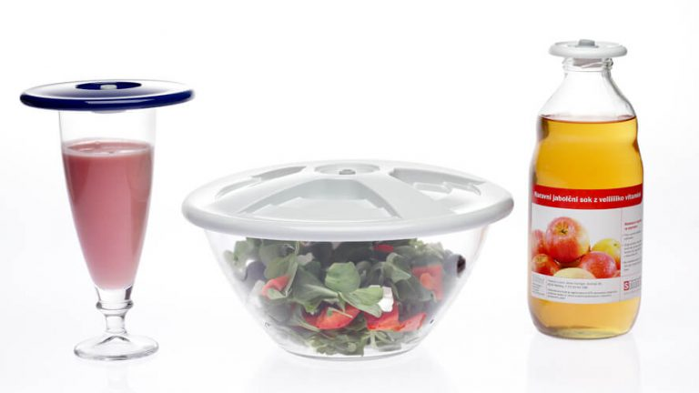 universal vacuum lids replace the single use stretch foil