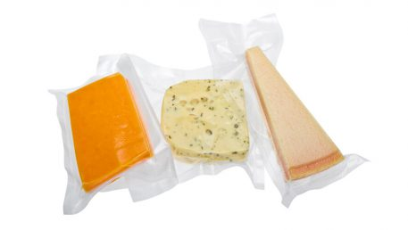 Vacuum packed cheese