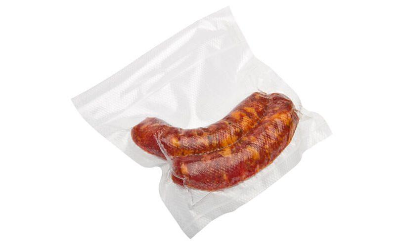 sausage vacuum packed
