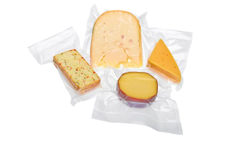 Status food vacuum bags for packing cheese