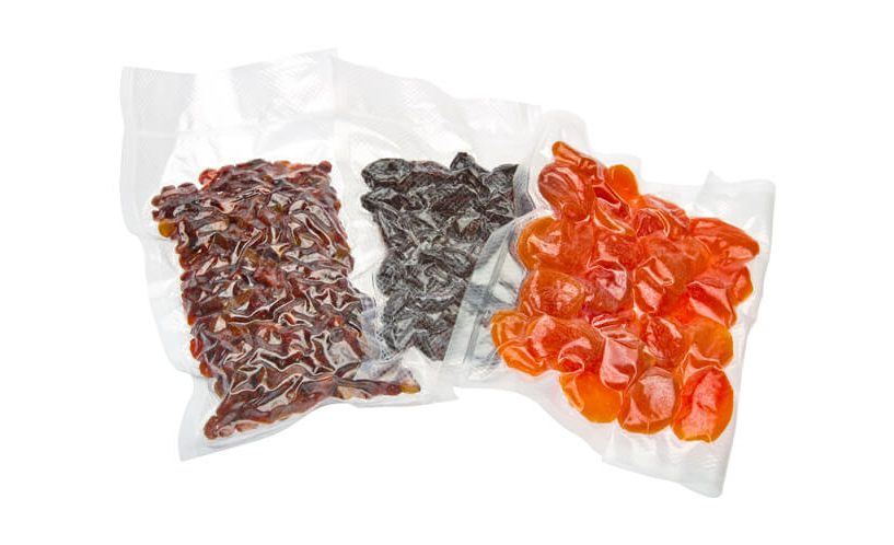 vaccume packed dried fruits