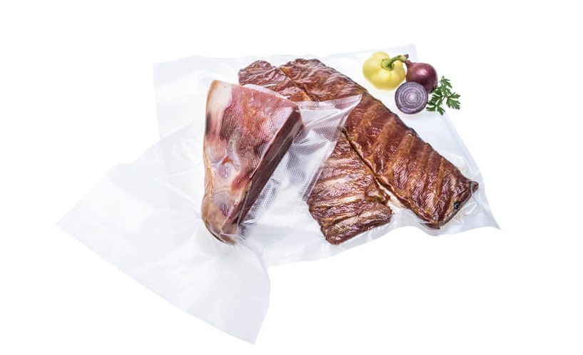 vacuum packed dried meat delicacies in extra large food vacuum bags