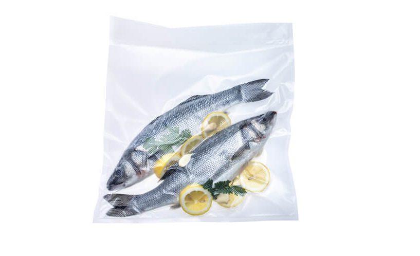 Vacuum packed fish