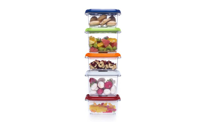 stackable food storage containers
