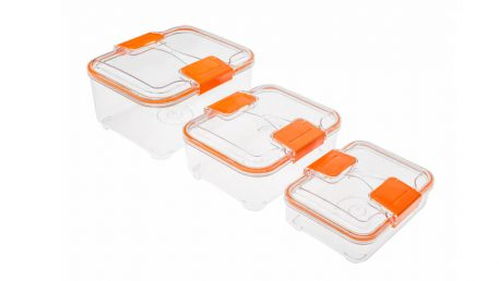 Lock set food containers