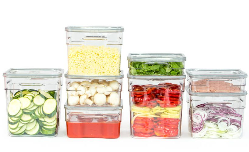 containers for commercial food storage in restaurants