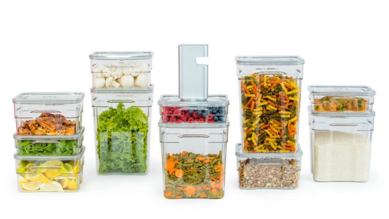 industrial food vacuum containers