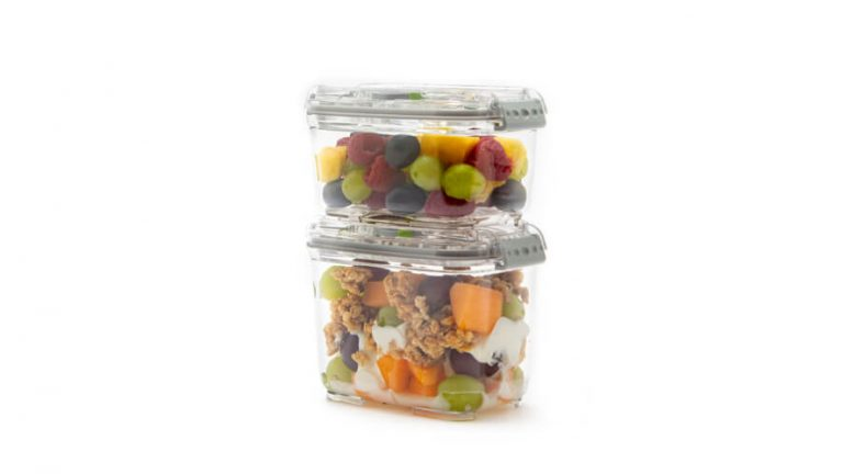 smaller food containers
