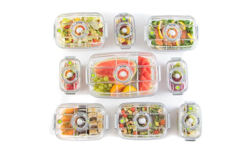 vacum containers with see through lids