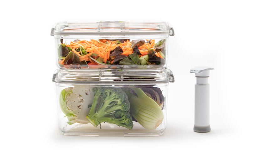 stack food containers