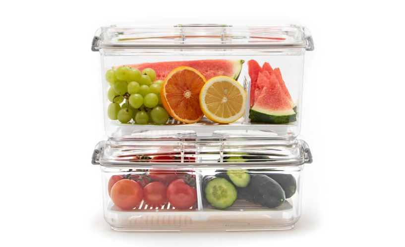 vacuum containers for fruits and vegetable