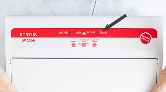 liquid sensor vacuum sealer
